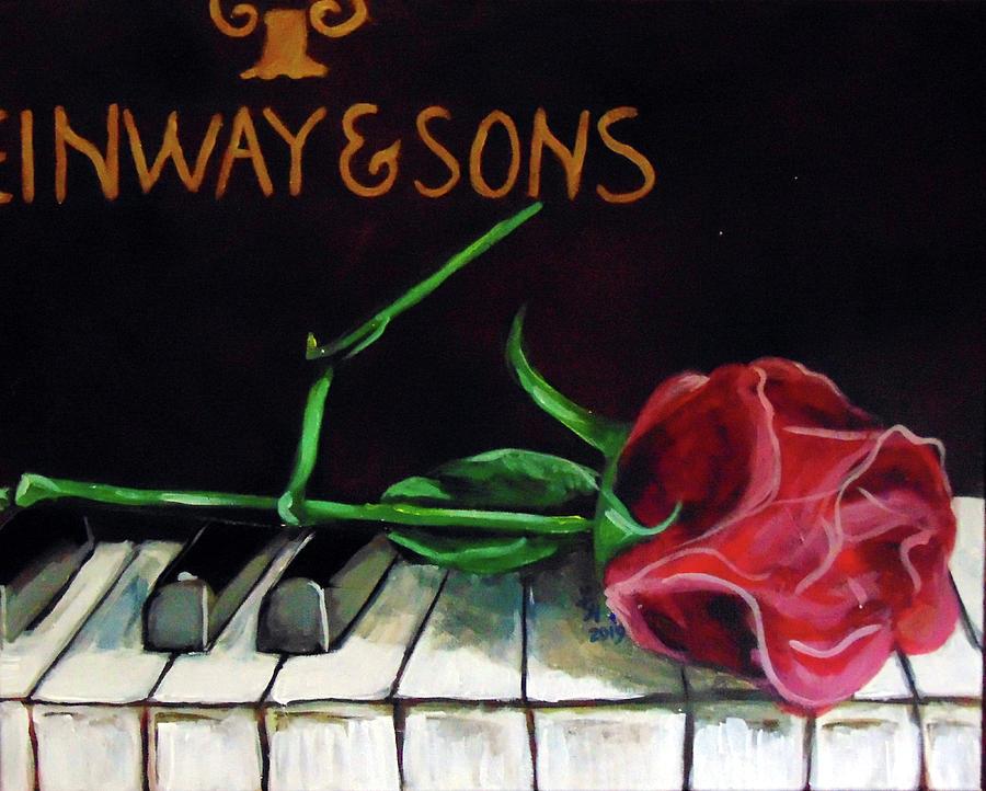 Steinway-Rose by Loretta Nash