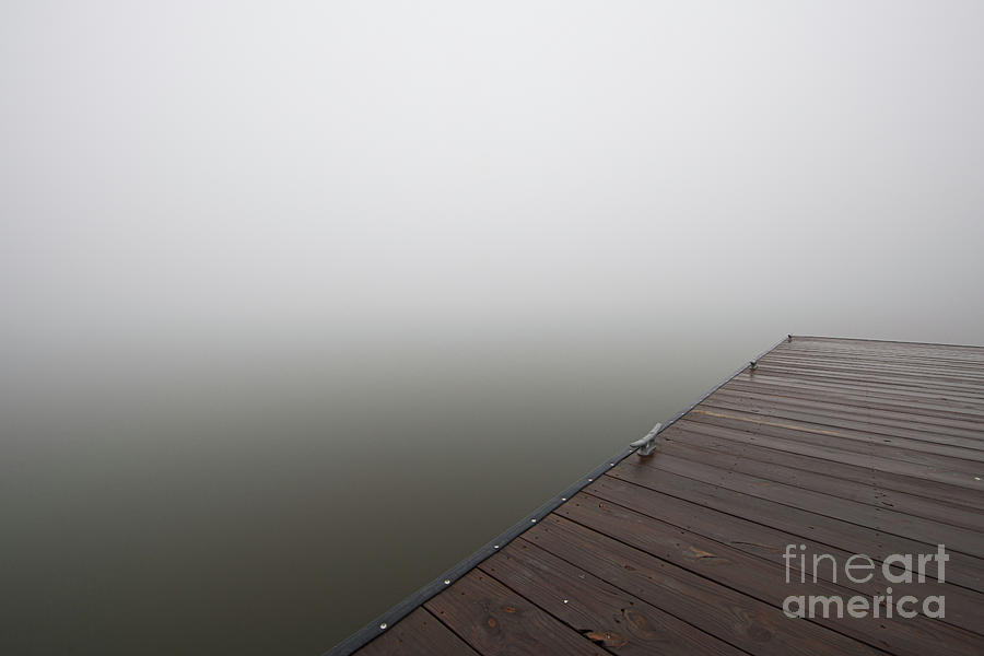 Step Into The Abyss - Sea Fog Photograph