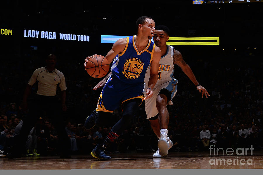 Stephen Curry Photograph by Bart Young