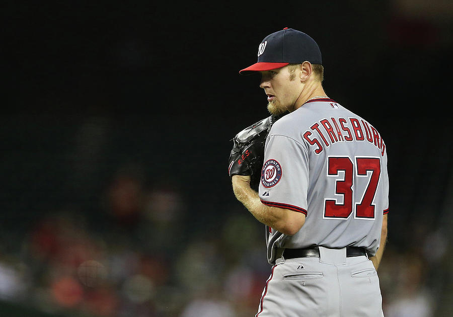 Stephen Strasburg Photograph by Christian Petersen