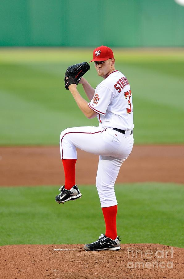 Stephen Strasburg Photograph by G Fiume