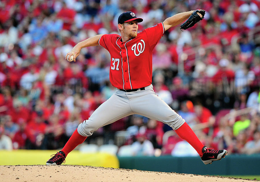 Stephen Strasburg Photograph by Jeff Curry