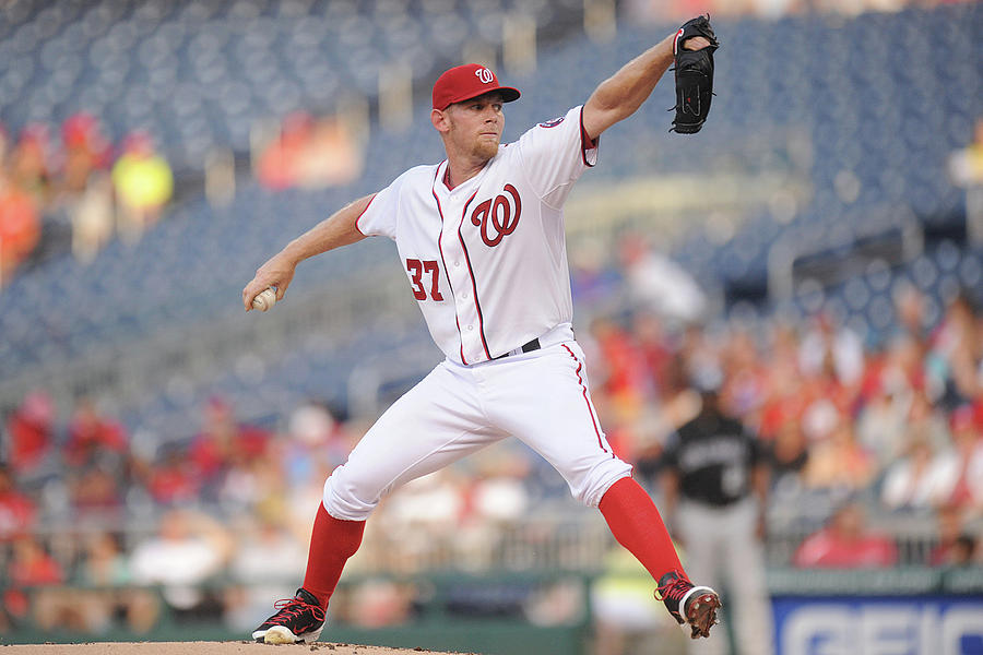 Stephen Strasburg Photograph by Mitchell Layton