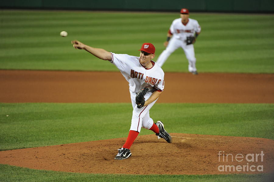 Stephen Strasburg Photograph by Rich Pilling