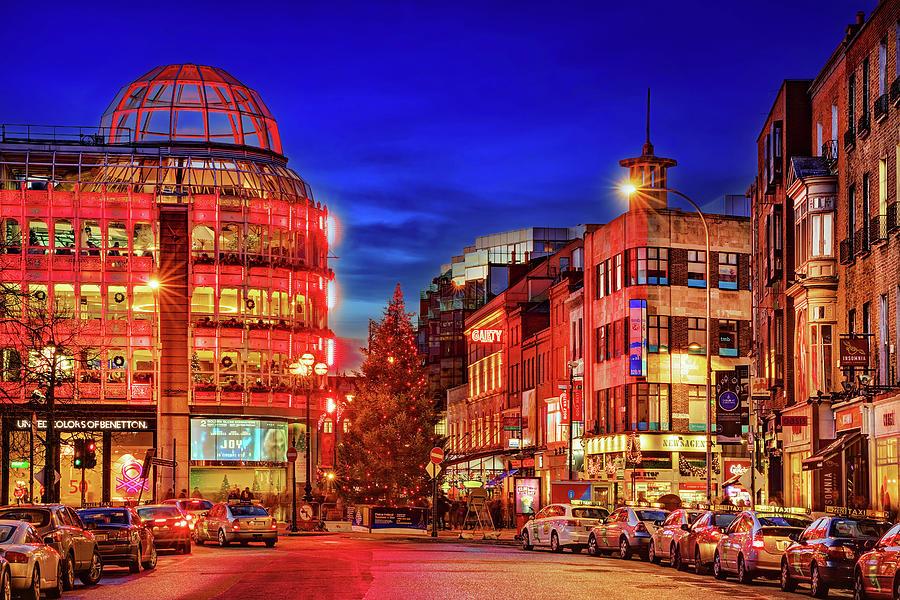 Dublin Photograph - Stephens Green Shopping Centre - Dublin, Ireland by Barry O Carroll