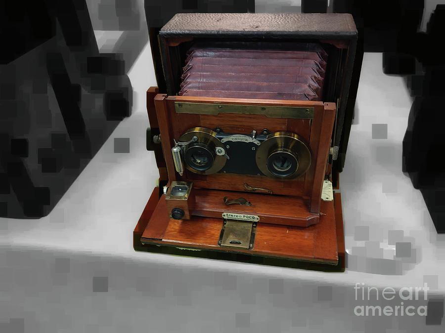 Unique Photograph - Stereo In 1898 by Steven Digman
