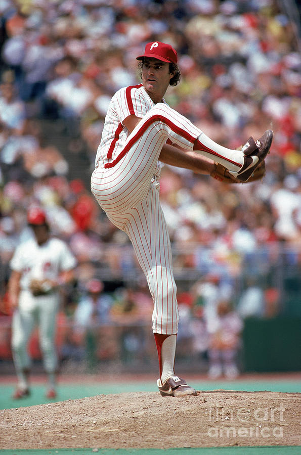 Steve Carlton Photograph by Mlb Photos