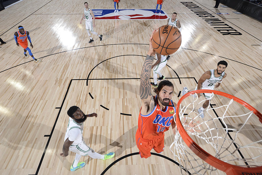 Steven Adams Photograph by Garrett Ellwood