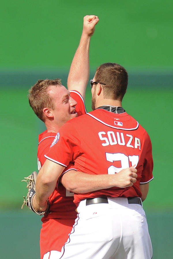 Steven Souza and Jordan Zimmermann Photograph by Mitchell Layton