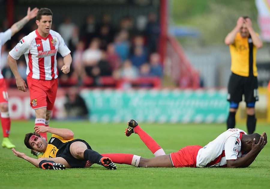 Stevenage v Southend United - Sky Bet League 2 Playoff Semi-Final Photograph by Jamie McDonald