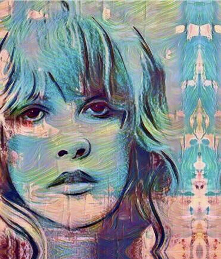Stevie Nicks Crystal by Jayime Jean