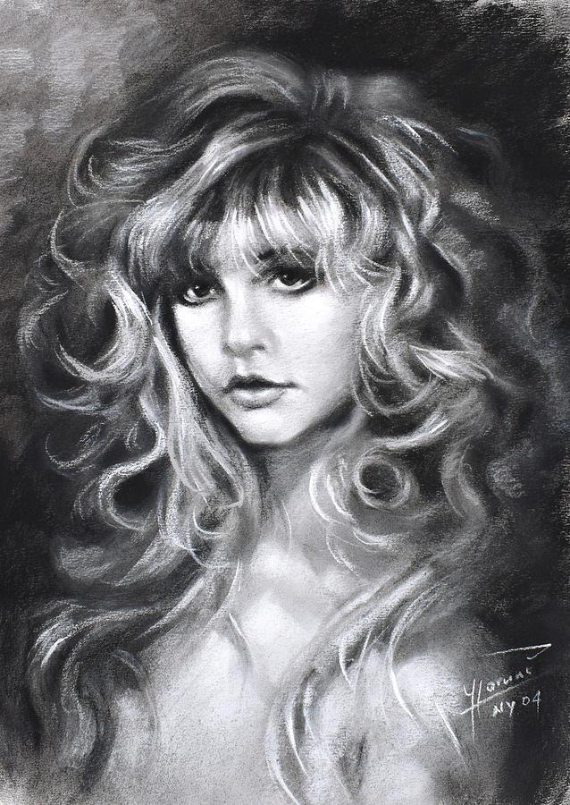 Stevie Nicks Drawing - Stevie Nicks by Ylli Haruni