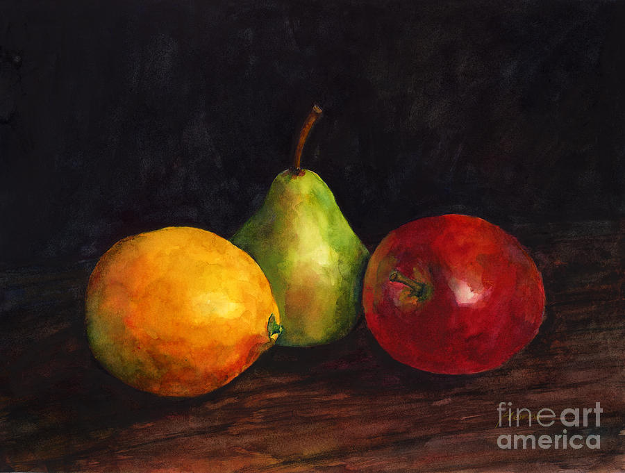 Still Life With Fruit Painting