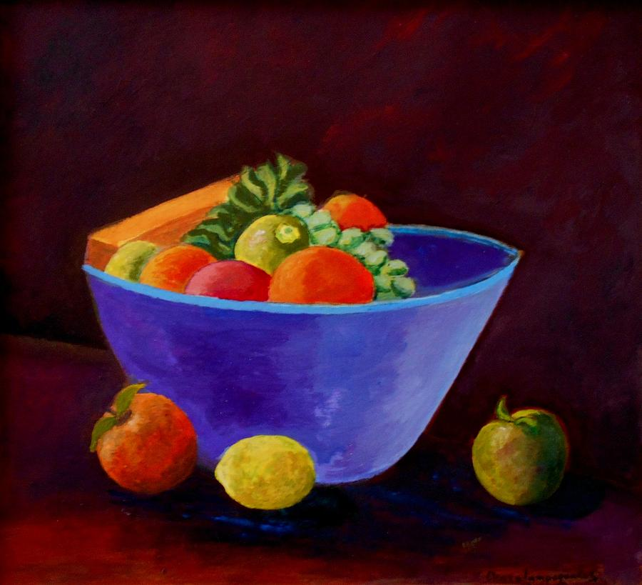 Still Life With Fruits Painting