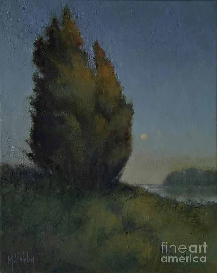 Still Moon Painting
