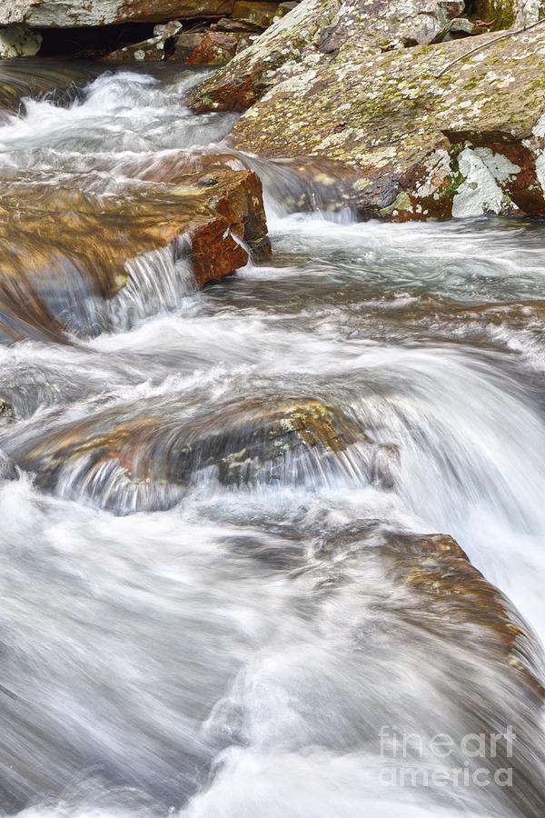 Stinging Fork Falls 17 by Phil Perkins