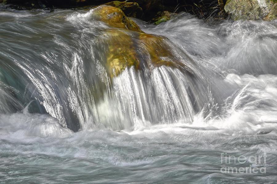 Stinging Fork Falls 18 by Phil Perkins