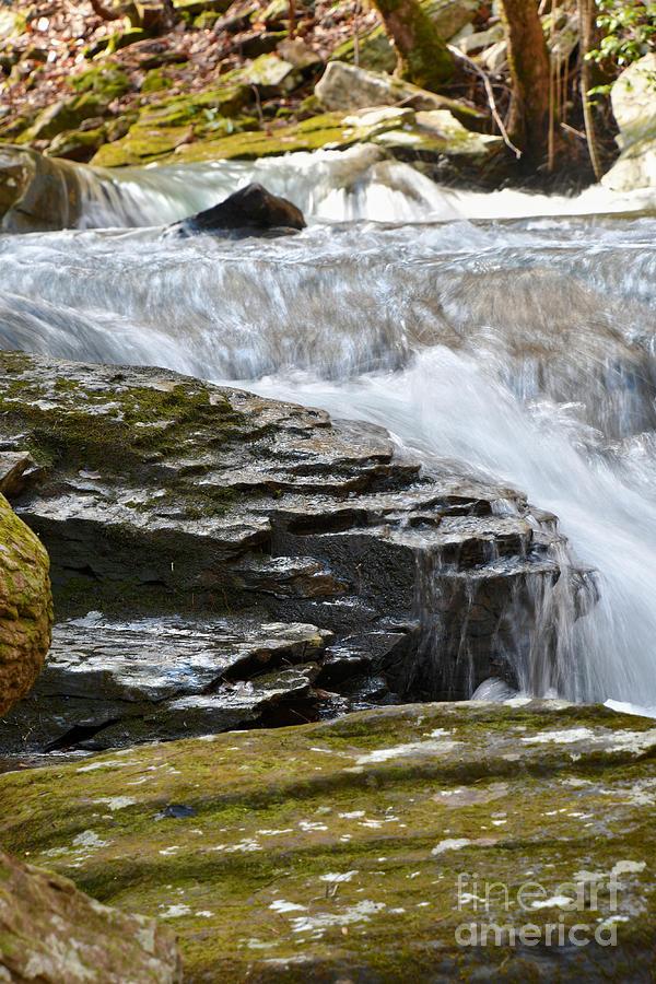 Stinging Fork Falls 19 by Phil Perkins