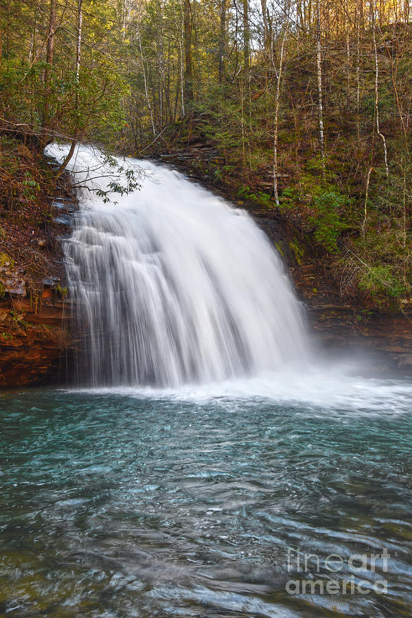 Stinging Fork Falls 22 by Phil Perkins