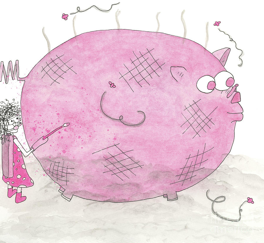 Stinky Pink Pig by Mike Mooney