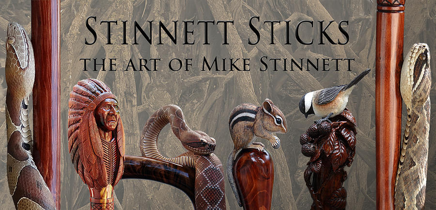 Stinnett Sticks Banner by Mike Stinnett