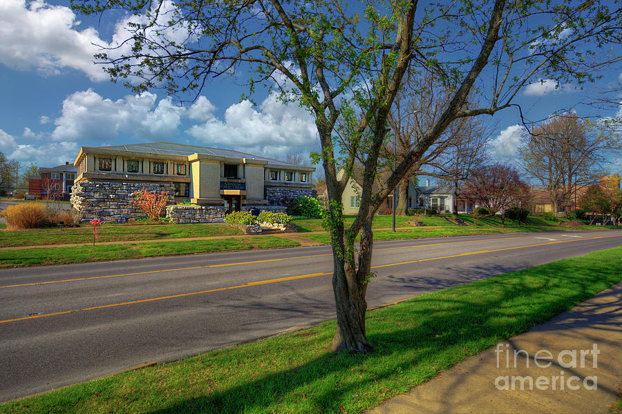 Travel Photograph - Stinson Memorial Library  by Larry Braun
