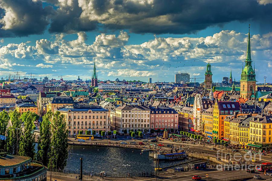 Stockholm City 2 Photograph