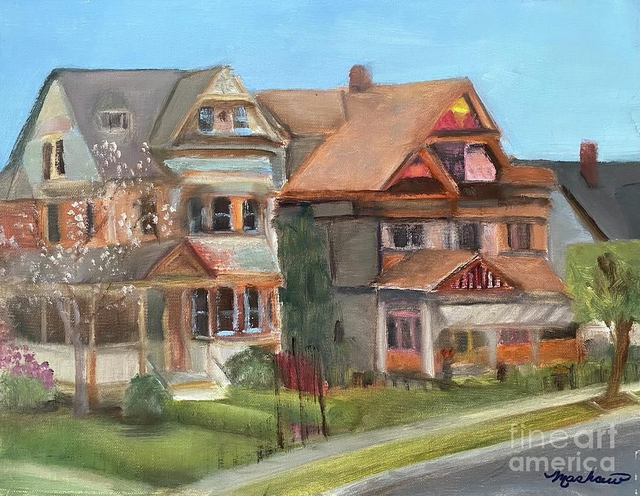 Stockton Street Painting - Stockton Street by Sheila Mashaw