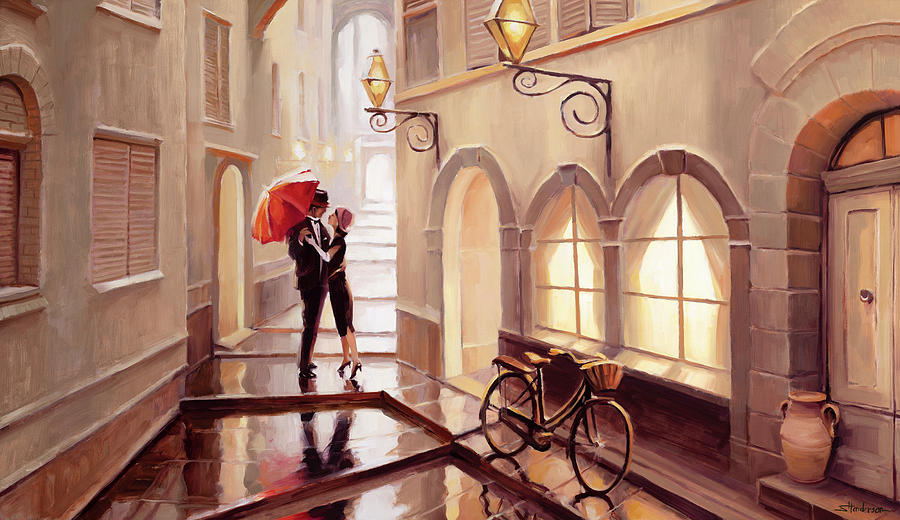 Stolen Kiss 2 Painting