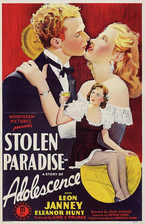 stolen Paradise 1940 Mixed Media