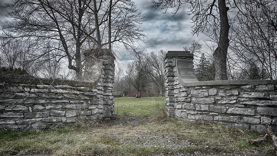 Stone Entrance Photograph