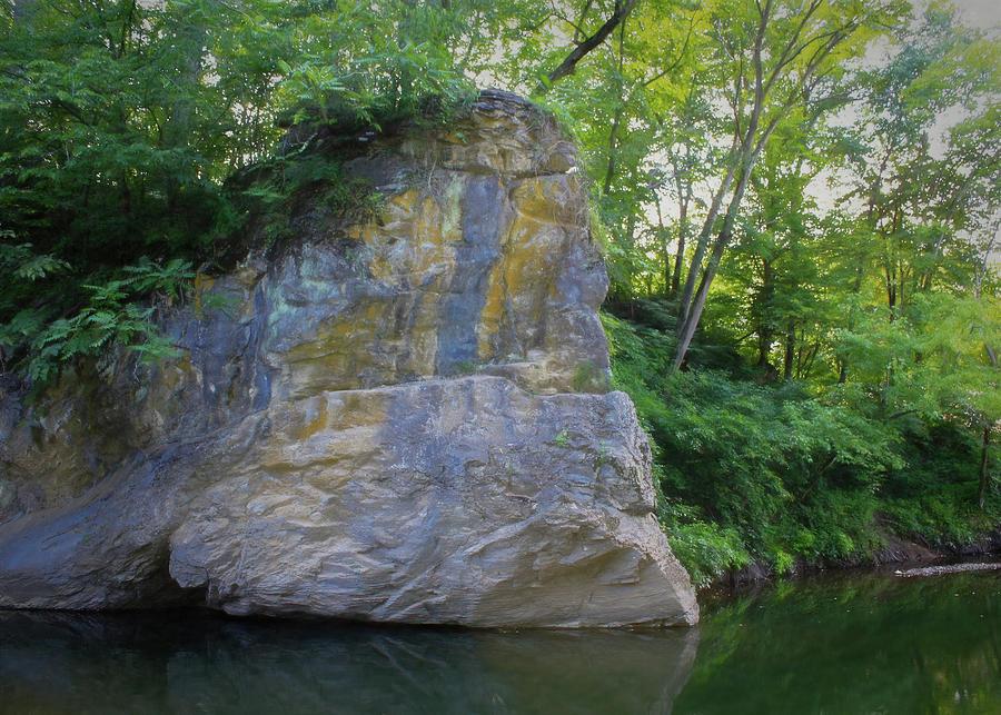 Stone Face Photograph