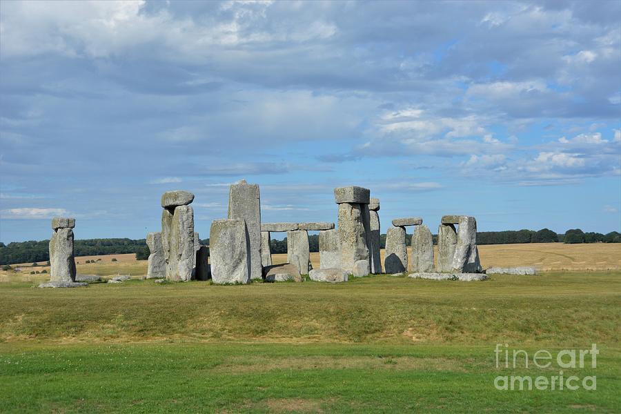 Stonehenge Photograph - Stone Henge  by Antony Thompson