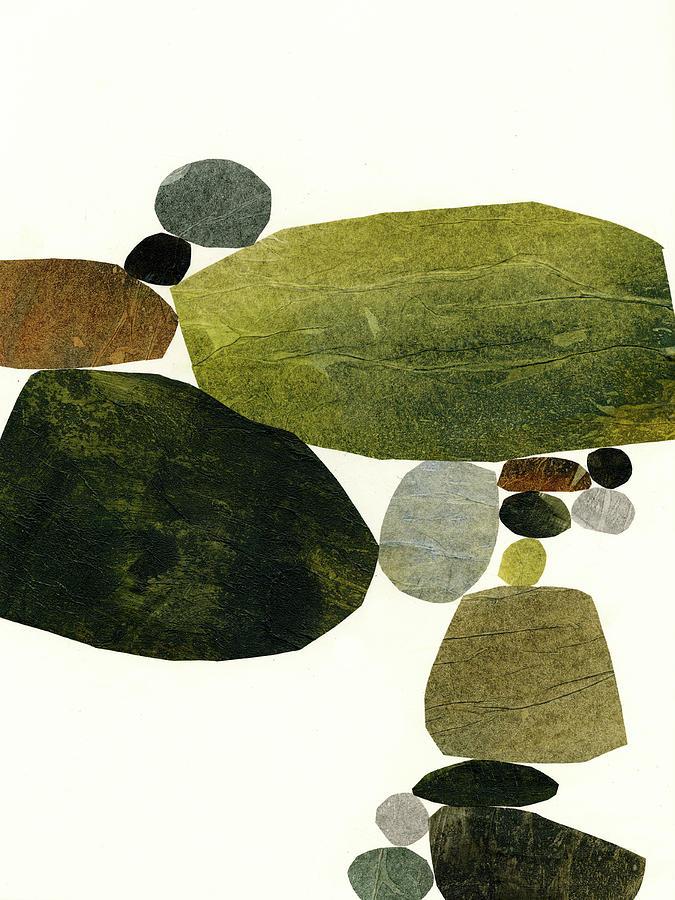 Pattern Mixed Media - Stone Stack #7 by Jane Davies