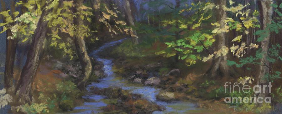Stoneham Maine Creek Painting