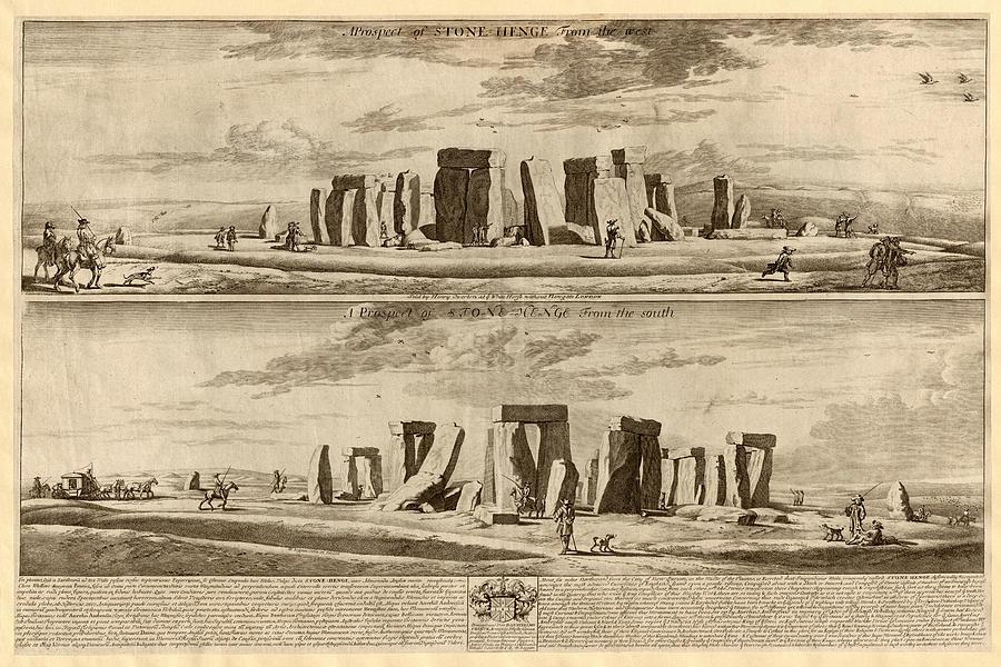 Stonehenge 1680 Photograph