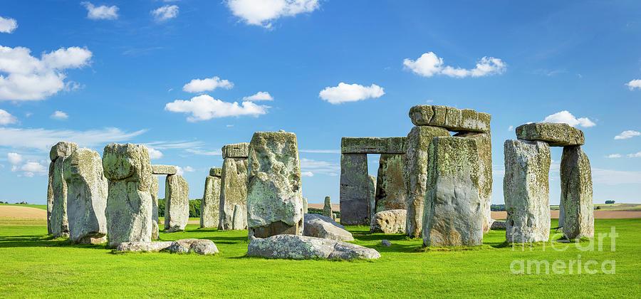 Stonehenge Photograph - Stonehenge neolithic stone circle, England by Neale And Judith Clark