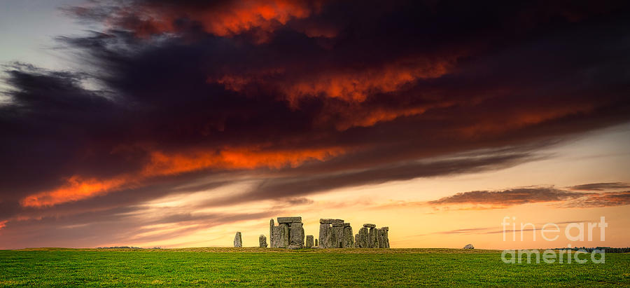 Stonehenge On The Summer Solstice Photograph
