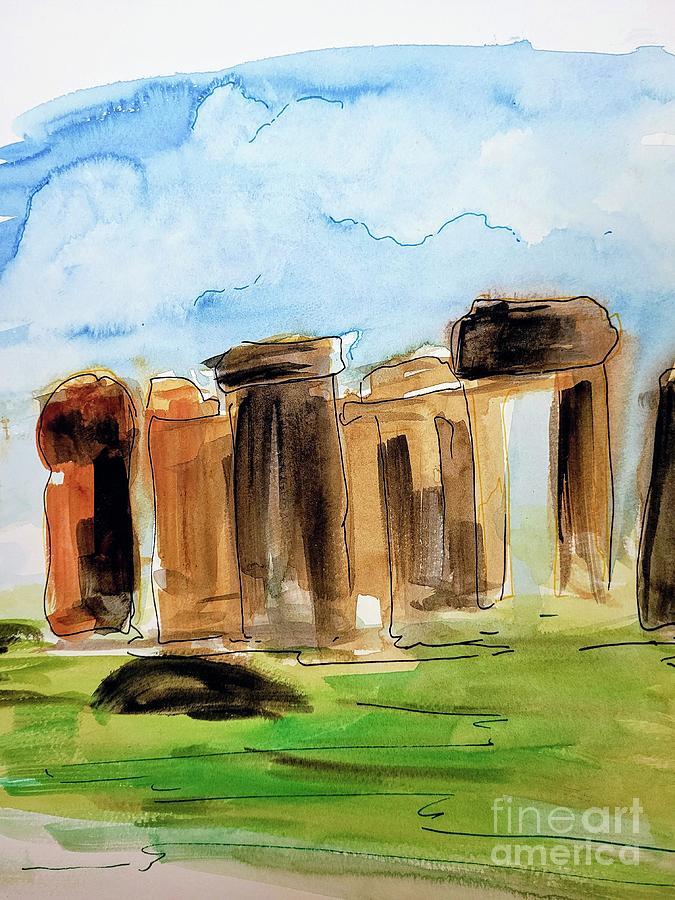Stonehenge Painting