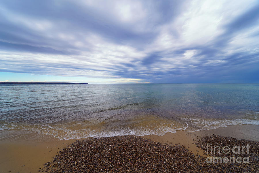 Stones Of Miners Beach Photograph