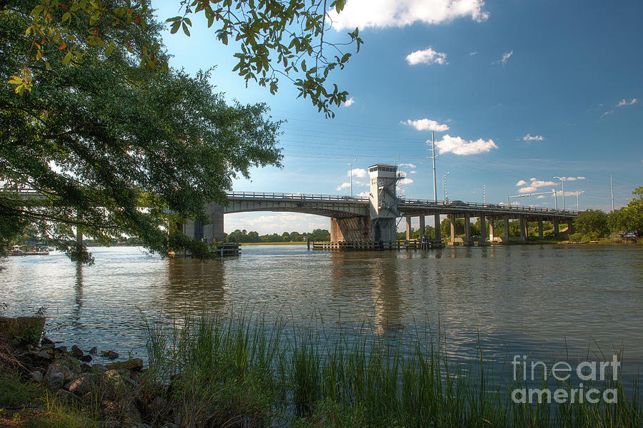Stono River Bridge - Charleston Photograph