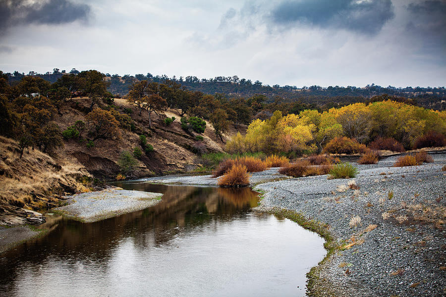 Creek Photograph - Stony Creek Fall view by John Heywood