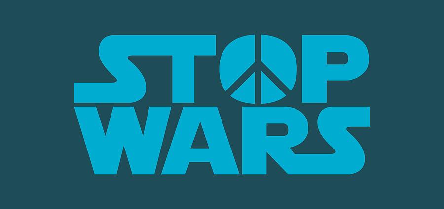 Stop Digital Art - Stop wars by Stanislav Yatsenko