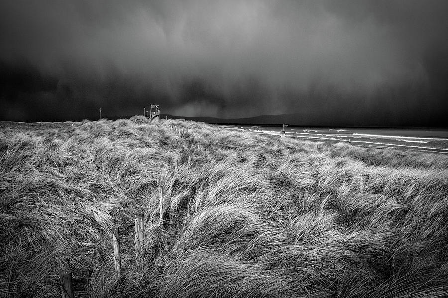 Storm Approaching Benone Photograph