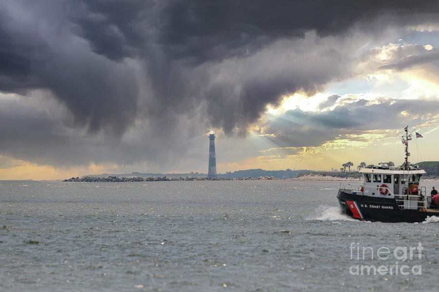 Storm Chaser - United States Coast Guard Photograph