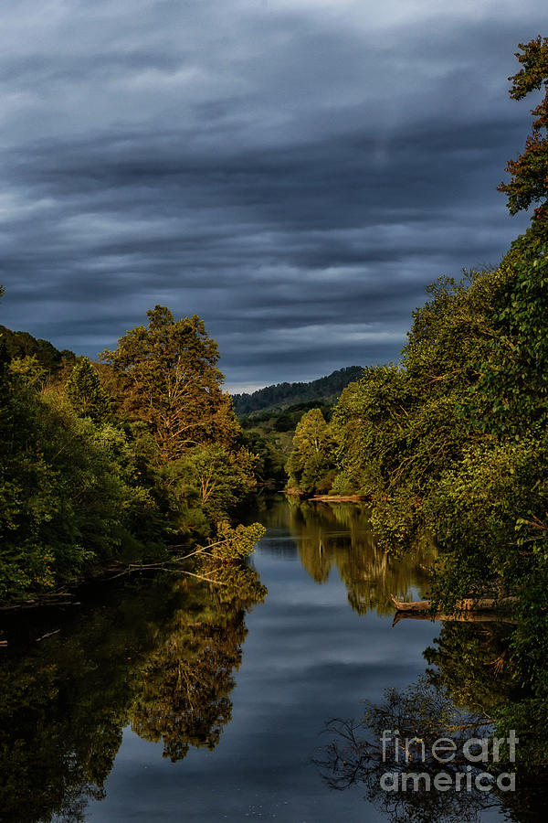 Storm Clouds and Morning Light by Thomas R Fletcher