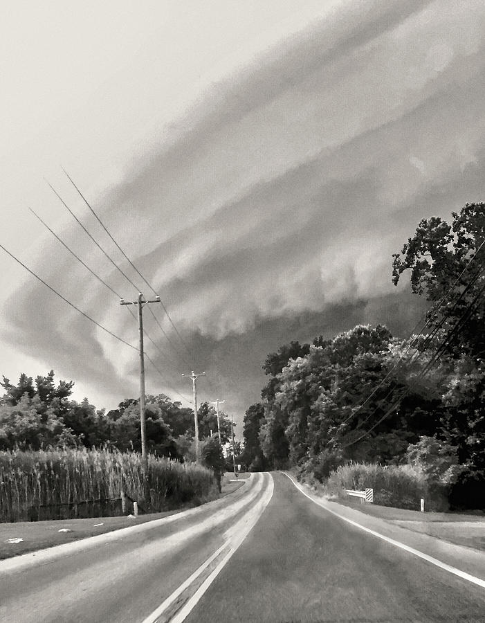 Storm Clouds Over Chester County Photograph