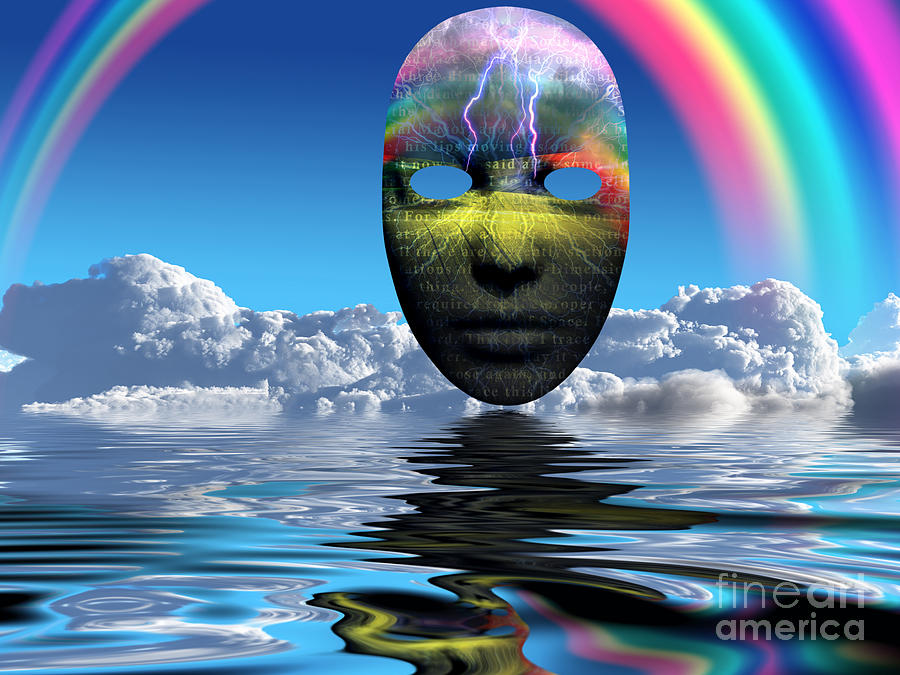 Storm Face Digital Art