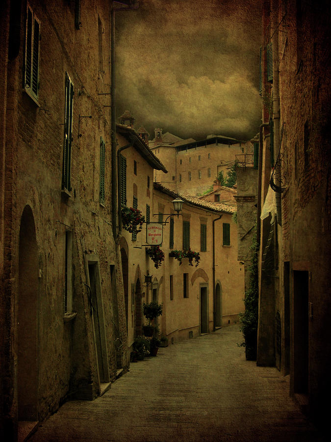 Storm Over Montepulciano Photograph