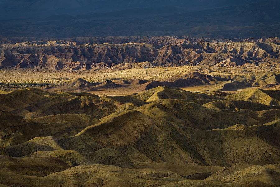 Desert Photograph - Stormlight on Badlands by Alexander Kunz